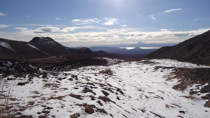 Вулканы в снегу Камчатка, Вулкан, Длиннопост