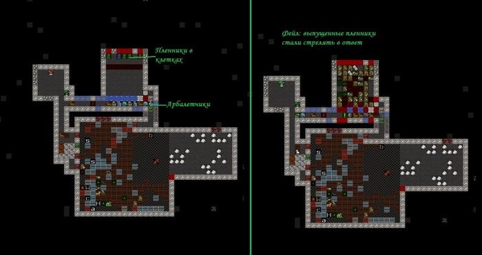 Как я пиксель арт в Dwarf Fortress строил. Часть 6: квантовая запутанность. Компьютерные игры, Dwarf Fortress, Мат, Длиннопост, Картинки, Литстрим