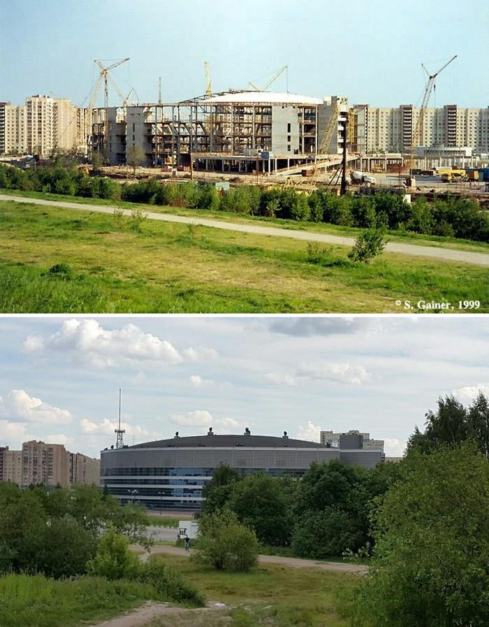 Ледовый дворец. Спб. 1999-2018