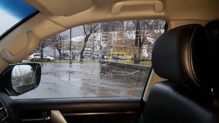 В центре Перми неизвестные обстреляли Land Cruiser депутата Пермь, Новости, Депутаты, Обстрел, Land Cruiser, Длиннопост