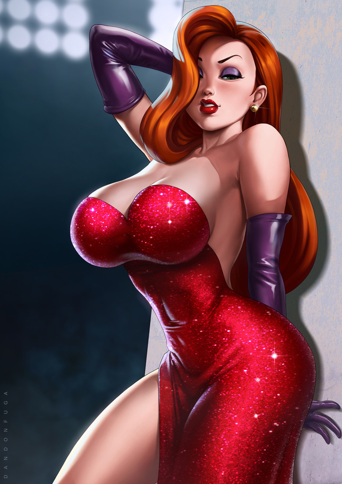 Jessica Rabbit Art