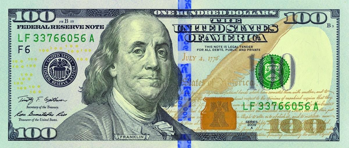 united states one dollar bill - HD1829×797