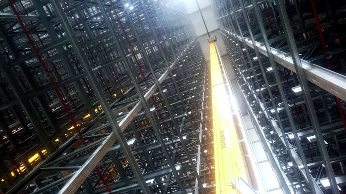 Сталь Склад, Строительство, Монтаж, Логистика, Логистический склад, Германия, Бавария, Металлоконструкции, Длиннопост
