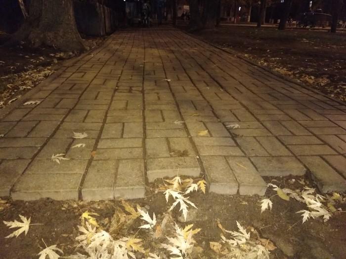 Анти-московский тротуар Асфальт, Тротуарная плитка, И так сойдет