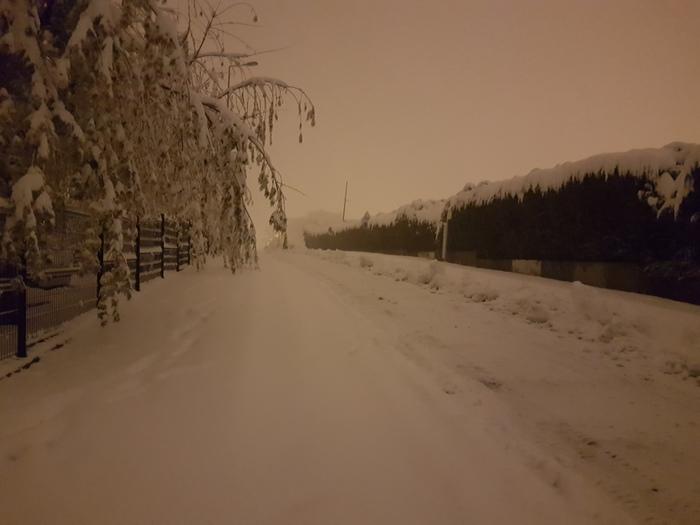 Погода что ты делаешь ахахаха... Прекрати! Снег, Метель, Локальная катастрофа, Природа, Франция, Длиннопост