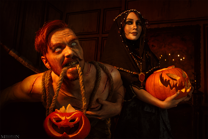 Happy halloween by Iris andOlgierd!