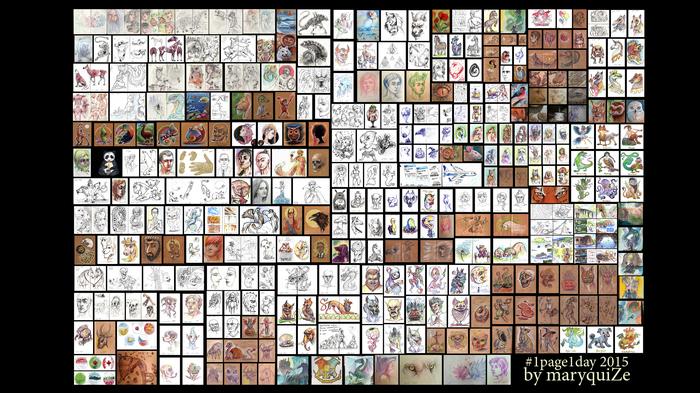 Немного о прогрессе До и после, 2d, Прогресс, Цифровой рисунок, 1page1day, Живопись, Арт, Видео, Длиннопост, Рисунок