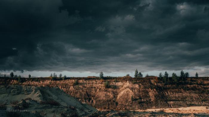 Когда ждал грозы... Гроза, Небо, Фотография, Природа, Песок