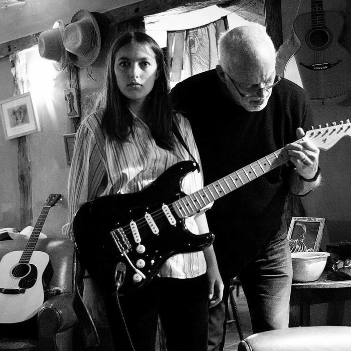 Романи Гилмор Pink Floyd, Дэвид Гилмор, Романи Гилмор, Родители и дети, David Gilmour, Romany Gilmour, Длиннопост, Рок