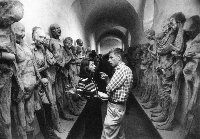 Музей мумий в Гуанахуато, Мексика, 1957 год.