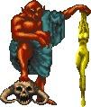 Как выглядели Принцы Даэдра до того, как стали известны. Daggerfall, Игры, Компьютерные игры, Даэдра, The Elder Scrolls, Шакалы, Гифка, Длиннопост