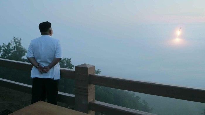 Восход солнца в Северной Корее