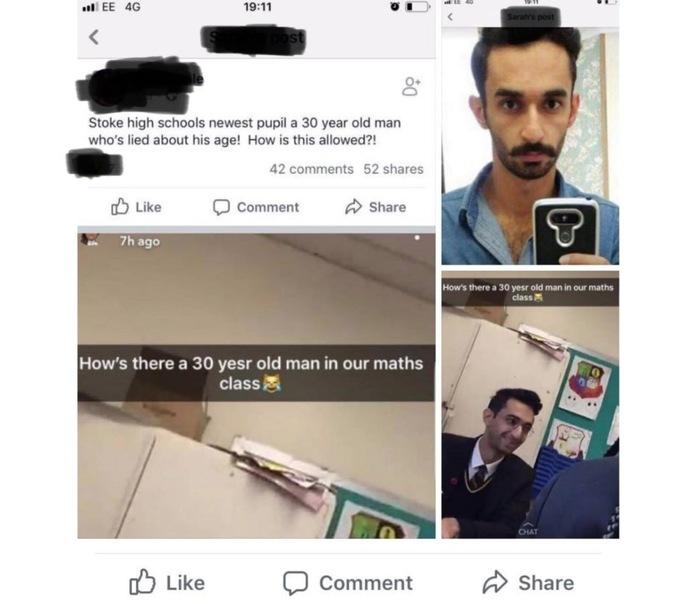 Руководство одной из британских школ начало расследование в отношении ученика из Ирана.Одноклассники подозревают, что ему 30 лет Новости, Великобритания, Школа, Ученики, Беженцы, TJournal