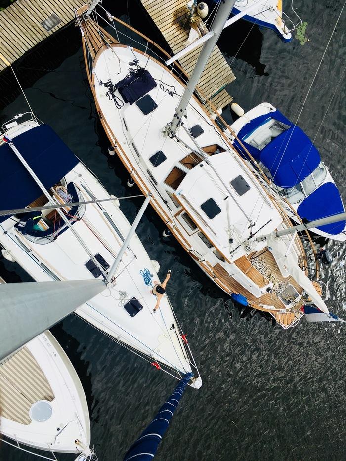 Глазами яхтсмена. Фотография, Яхтинг, Море, Ракурс