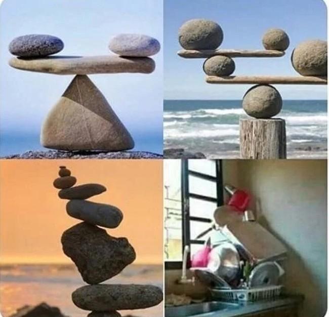 Это не бардак, а искусство баланса