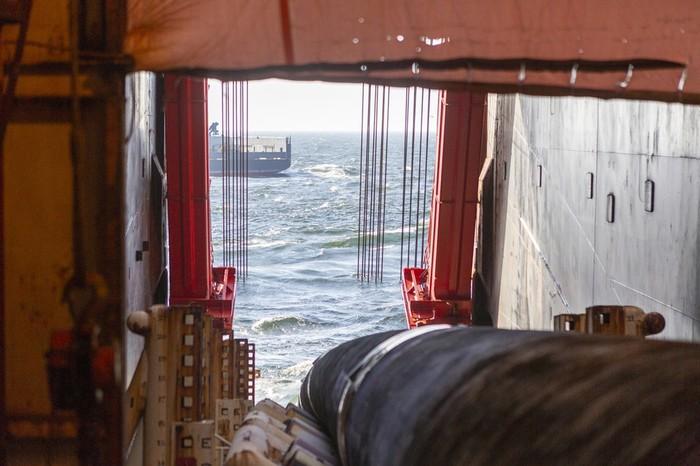 """""""Северный поток-2"""": построено более 200 км газопровода Северный Поток-2, Газопровод, Газпром, Политика, Длиннопост"""