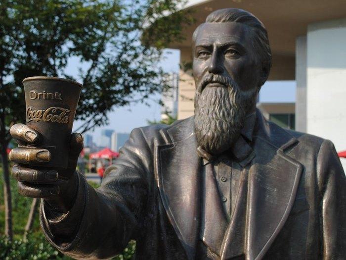 Хочу все знать! #22.10 фактов о «Кока-коле» Coca-Cola, История, Создание, Хочу все знать, Бренды, Текст, Картинки, Длиннопост