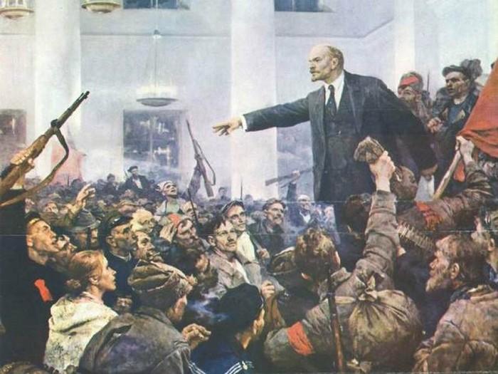 С праздником Великой Октябрьской Социалистической Революции, товарищи! Ленин, С праздником, Октябрьская революция