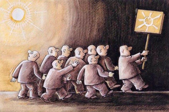 От аспиранта института радиоэлектроники до руководителя секты, или история одного «гуру» Секта, Харьков, Предостережение, Длиннопост