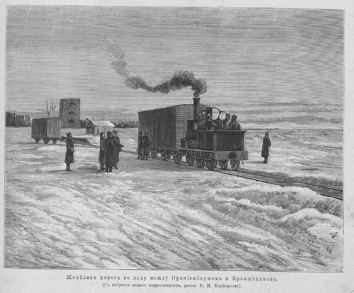 Читая старую прессу. 1881 год Всемирная иллюстрация, Паровоз, Нева, Санкт-Петербург