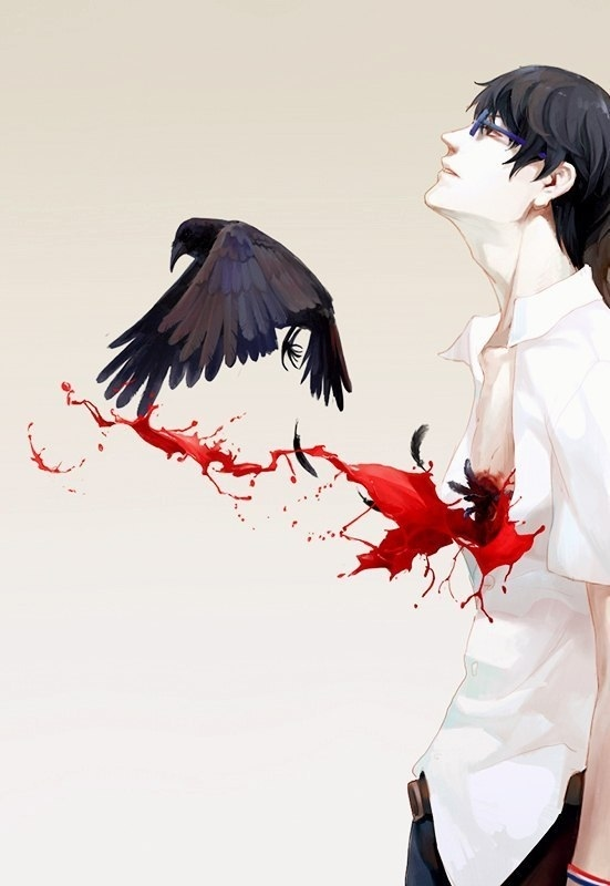 Эхо террора Арт, Эхо Террора, Аниме, Anime Art, Длиннопост