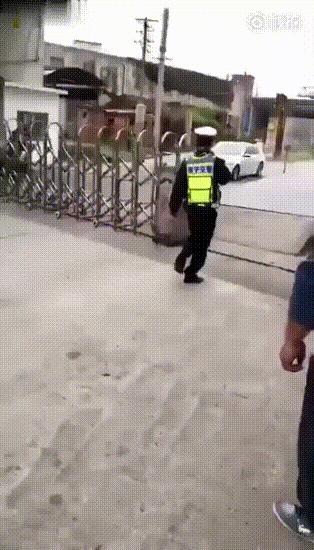 Попытка остановить нарушителя