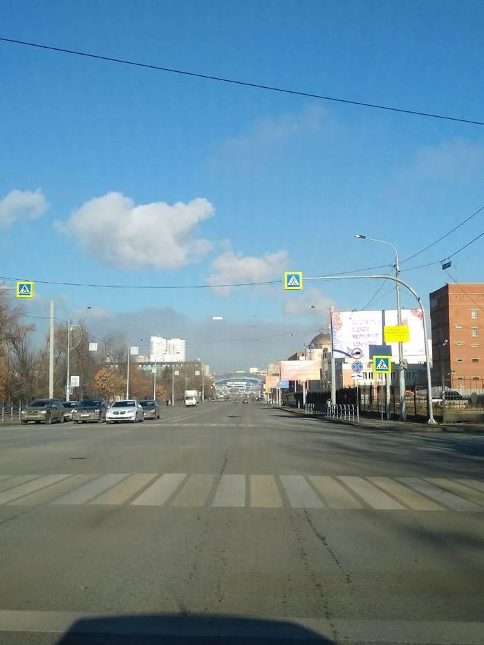 Челябинск который СМОГ. Челябинск, Смог, Фотография, Негатив