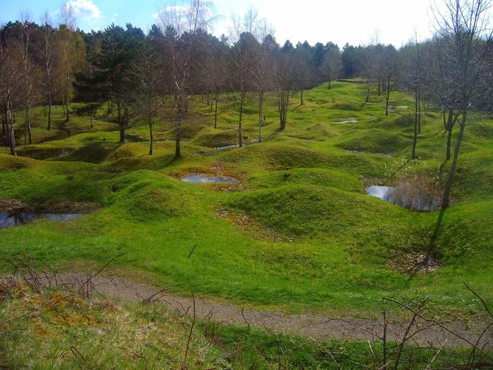 Так спустя 102 года выглядит поле боя под Верденом