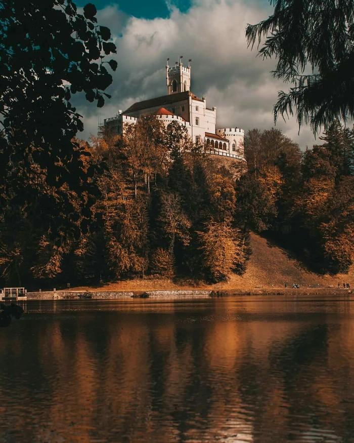 Замок в Хорватии.