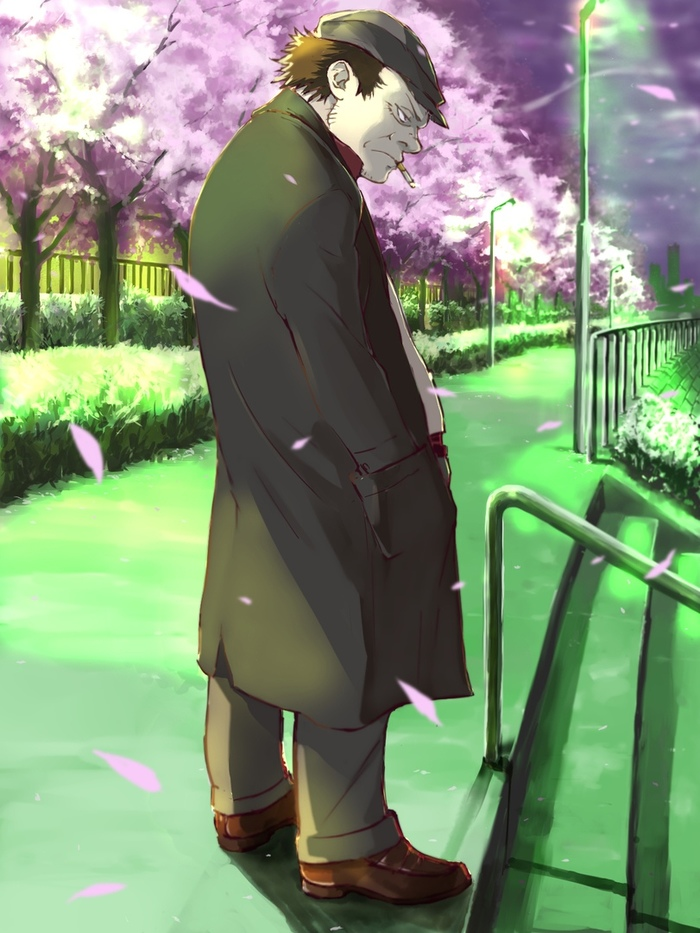 Бросал бы ты курить, Хуанг Аниме, Anime Art, Darker Than Black, Huang, Hei, Yin, Mao, Длиннопост