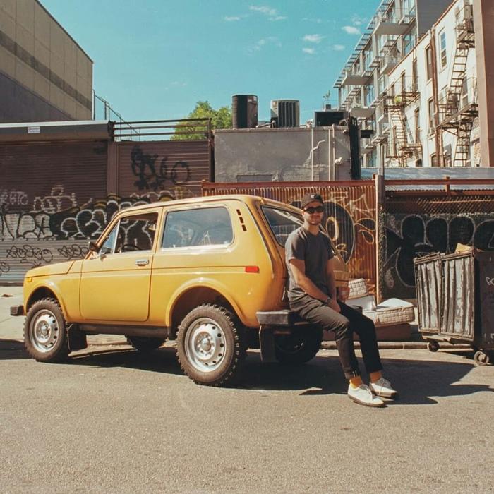 Нива 1983 года в Нью-Йорке Нива, США, Пленка, Длиннопост, ВАЗ 2121, Нью-Йорк, Фотография