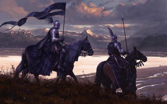 Горный перевал Арт, Рыцарь, Кавалерия, Горы