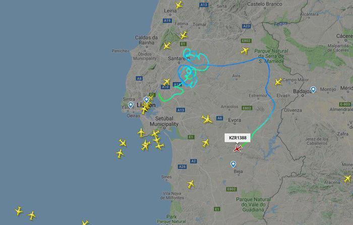 Авиационное происшествие: Эйр Астана, рейс KC1388, потерял управление после взлета Air Astana, Flightradar24, Embraer, Португалия, Авиационное проишествие, Потеря управления, Самолет, Переговоры, Видео, Длиннопост