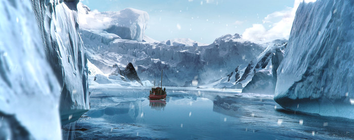 Ледник Арт, Рисунок, Ледник, Судно