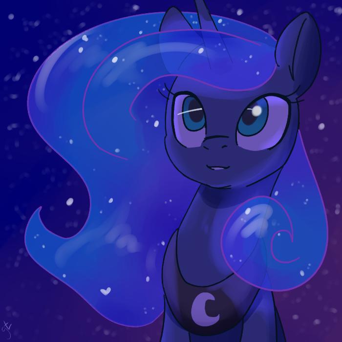 Moona My Little Pony, Princess Luna, Goat Train