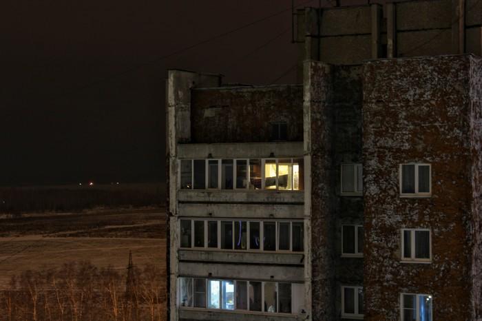 Мрачный колорит спальных районов России Панельный дом, Россия, Фотография, Начинающий фотограф, Длиннопост