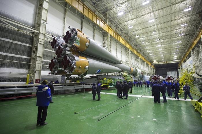 Союз-ФГ готов к старту 16 ноября Космос, Роскосмос, Ракета, Прогресс МС10, Байконур, МКС, Видео, Длиннопост