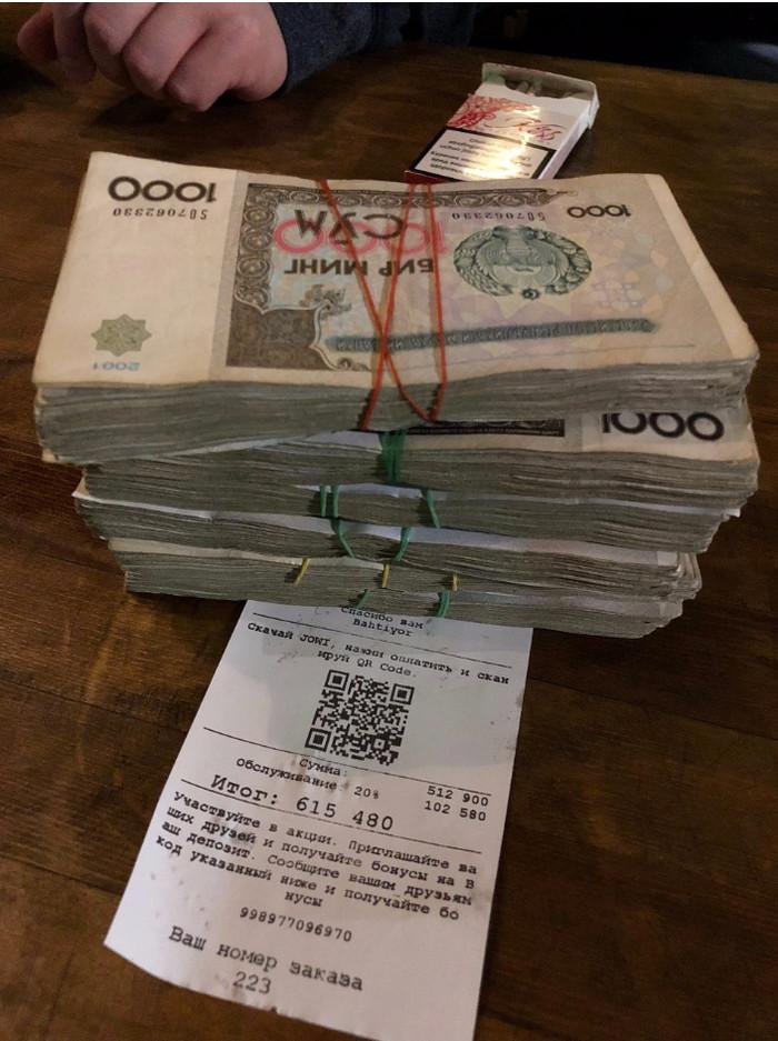 Когда у каждого денег куры не клюют Узбекистан, Деньги, Богатство