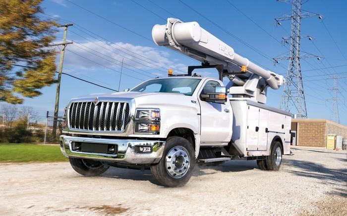 Из пикапа для домохозяек – в трудяги: представлены грузовики International CV Series Пикап, Navistar International, Трудяги, Авто, Длиннопост