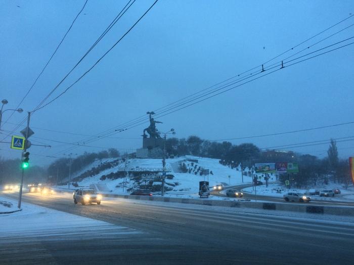 В Ростов-на-Дону пришла зима