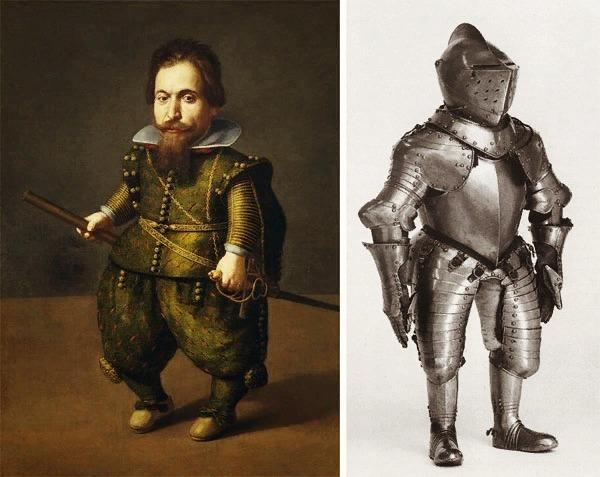 Доспех Руперта, придворного карлика герцога Иоганна Казимира.