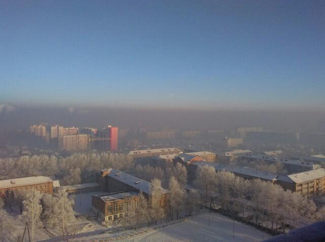 Ничего не меняется! Длиннопост, Красноярск, Экология, Смог
