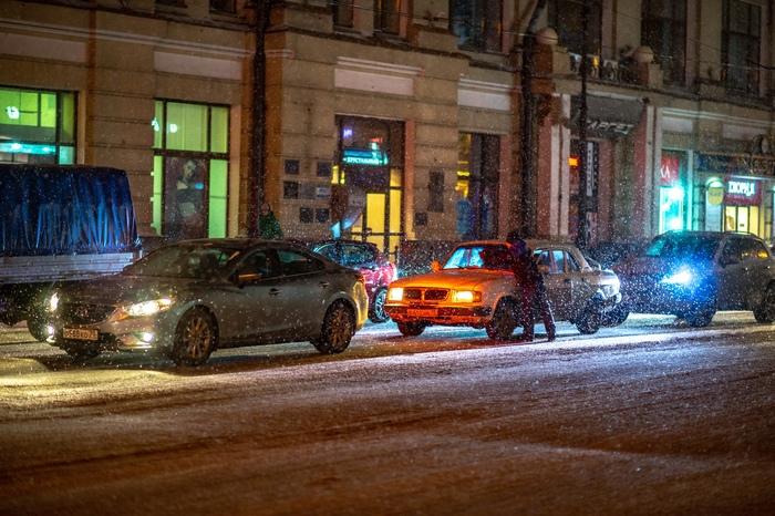 Томские снегопады Томск, Снегопад, Снег, Город, Фотография, Длиннопост
