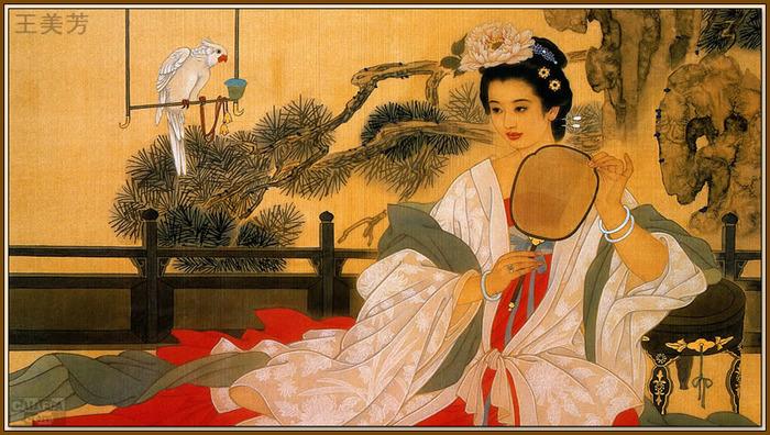 Китайские куртизанки, и как их искусство пришло в Японию Китай, Нюйкуй, Куртизанка, Культура, История, Длиннопост