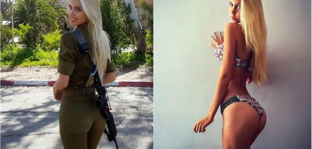 Израильская военщина во всей красе Девушки, Израиль, Армия, Бикини, Отдохни, Длиннопост