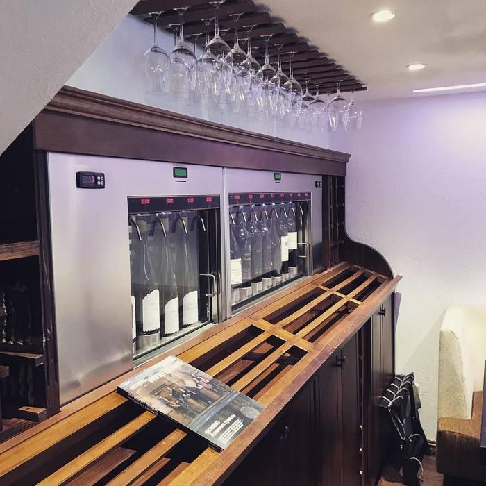 Автомат для дегустации вин в Москве Вино, Дегустация, Москва