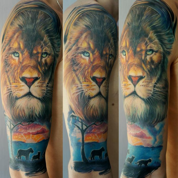 Моя первая татуировка! Перваятату, Реализм, Тату, Tattoo, Первый пост