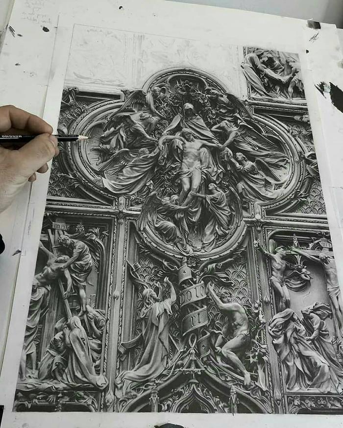 Рисунок карандашом от artmoron