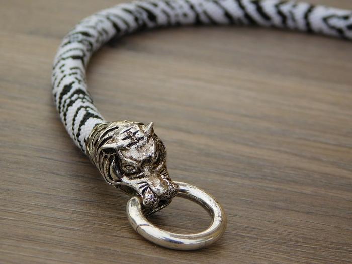 Вроде зебра.... Вроде тигр... Жгуты из бисера, Рукоделие без процесса, Зебра, Тигр, Бисер, Длиннопост