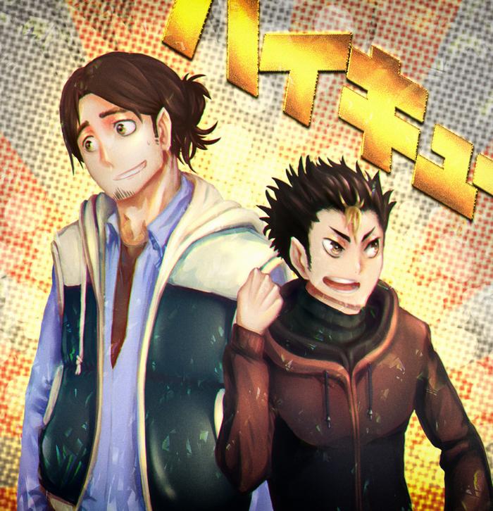 Фанарт Anime Art, Haikyuu!!, Аниме, Ссылка, Пиар, Длиннопост